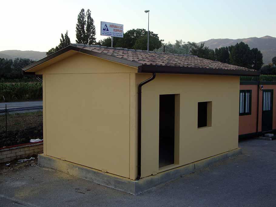 Garage prefabbricati in cemento sogno immagine spaziale for Piani di garage prefabbricati