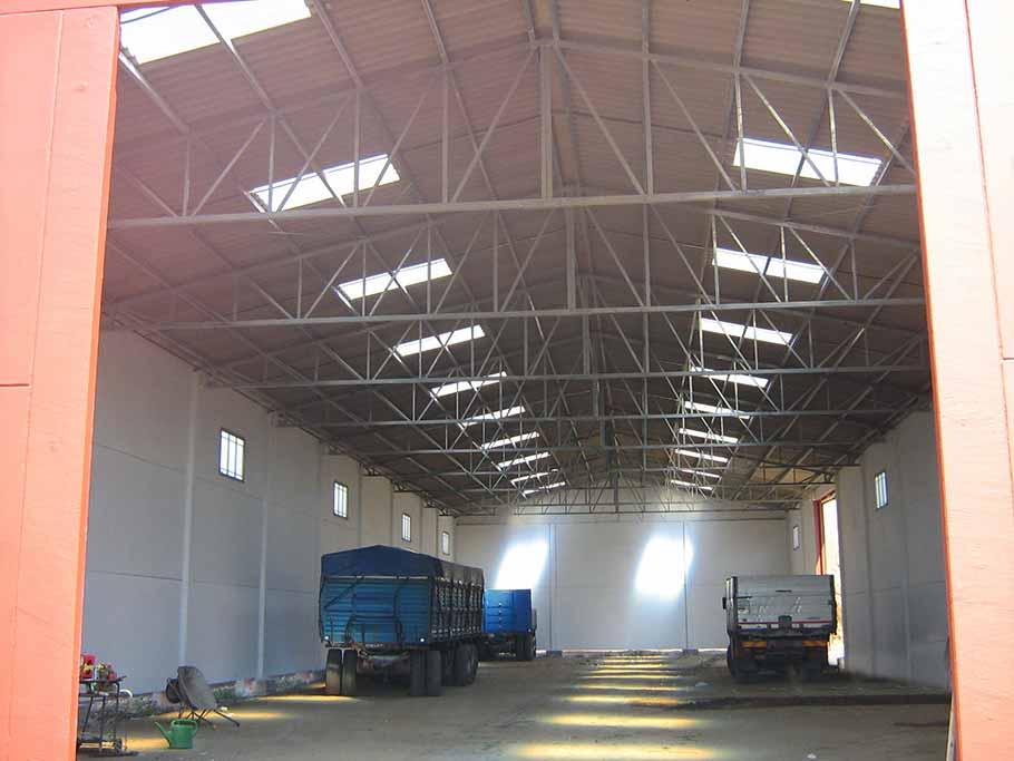 capannoni artigianali (16) copertura con capriate in ferro