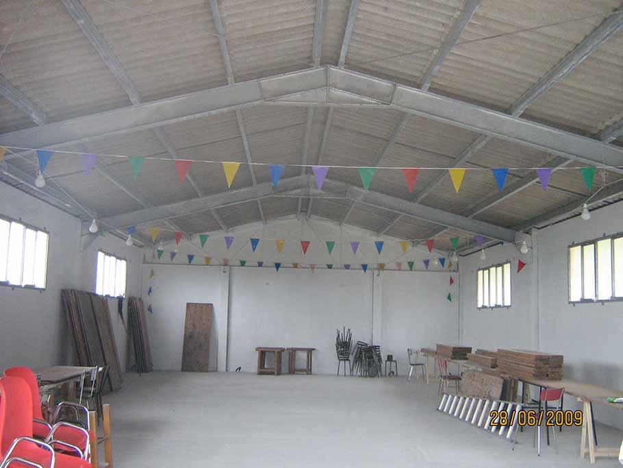 capannoni artigianali (19) copertura in ferro a Boomerang