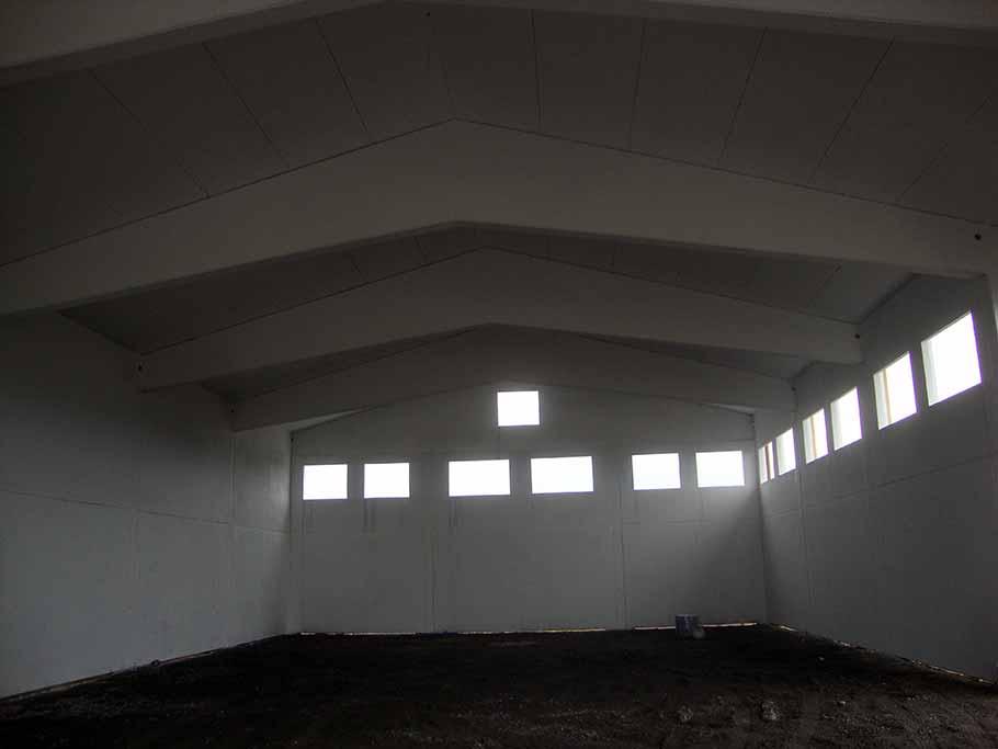 copertura in cemento a Boomerang