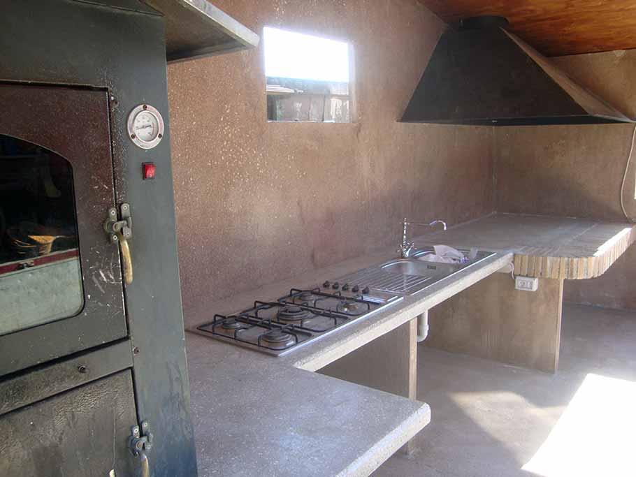 angolo cottura prefabbricato in cemento