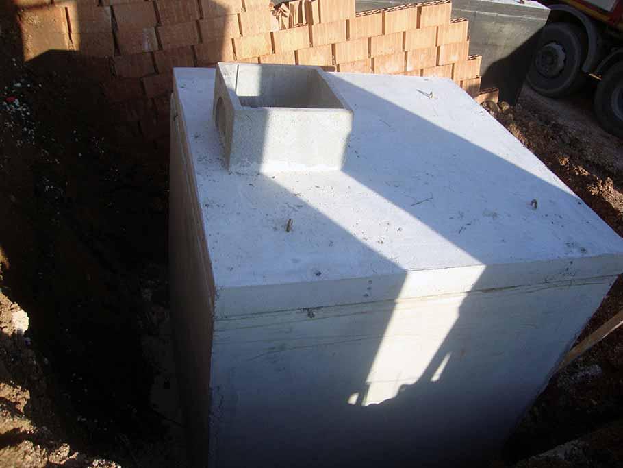 vasca prefabbricata in cemento