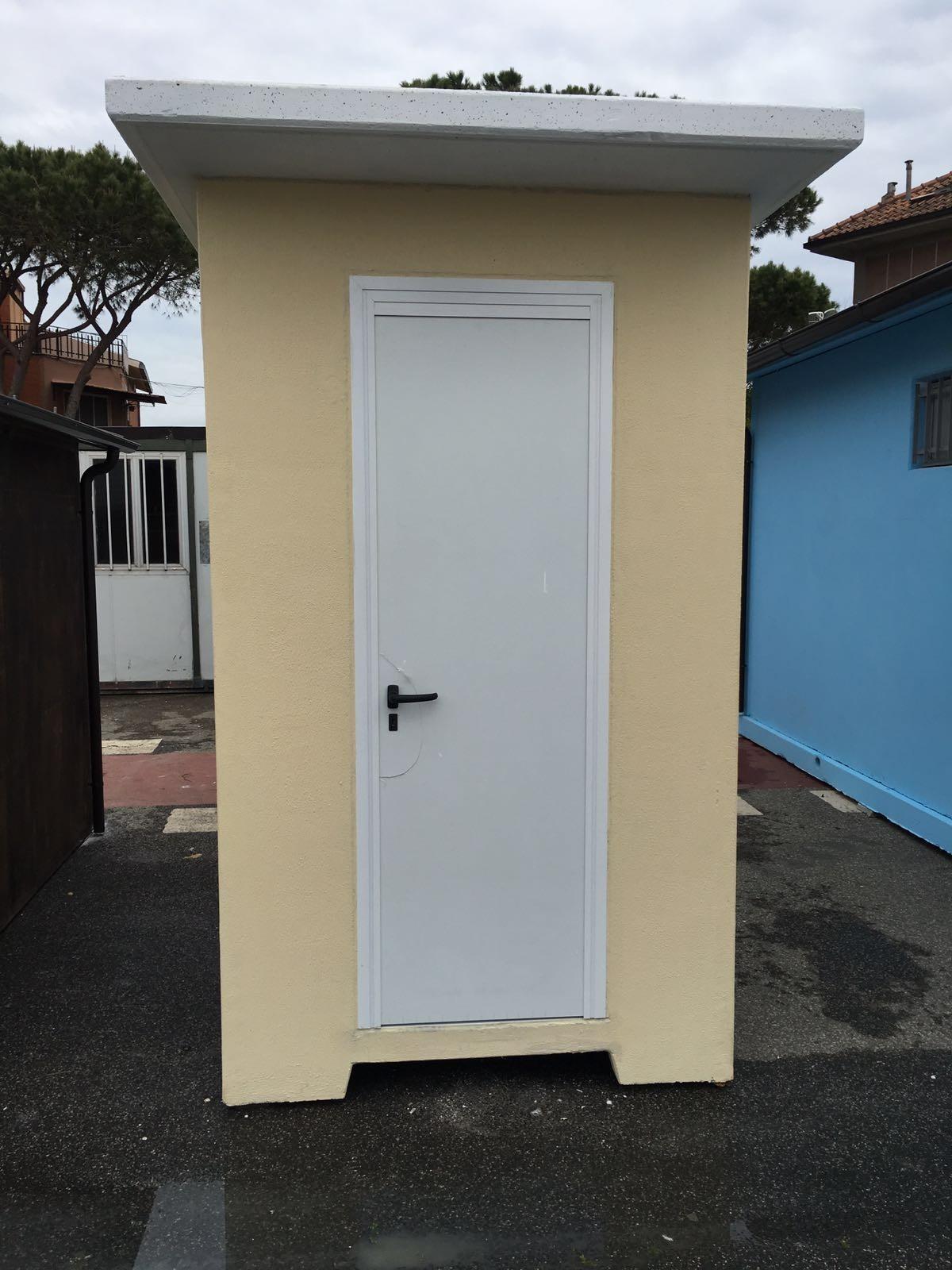 Bagno esterno in legno design casa creativa e mobili - Box bagno esterno ...